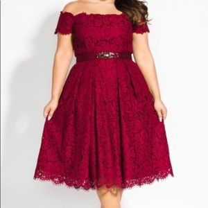 Lace Dream Dress by: City Chic